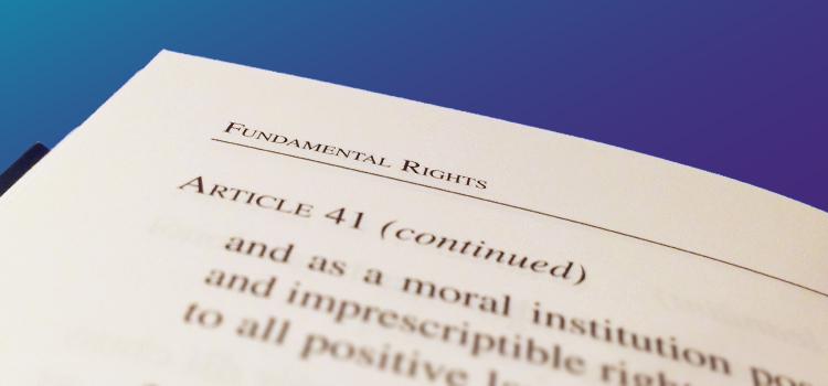 Article 41 of the Irish Constitution